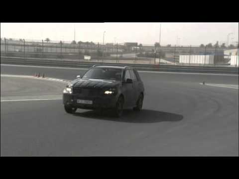 Highspeed Testing New Mercedes-Benz M-Class 2012