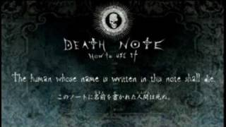 Death Note - Official Anime Trailer