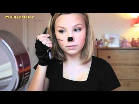 Last Minute Halloween: Cat Costume & Makeup!
