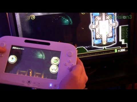 Nintendo Wii U Controller Demo from CES 2012