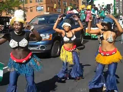 Miss Black USA 2010 - Osas Ighodaro @ Nigerian Independence Day Parade.mp4