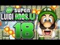 Let's Play New Super Luigi U Part 18: Asynchrone Flammenfails
