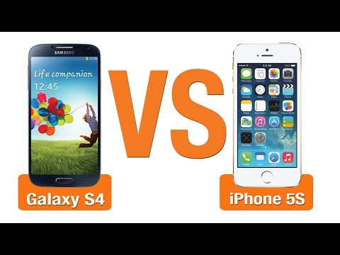 شاهد مقارنة هواتفبين  ايفون 5 اس و جالاكسي اس 4