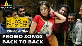 Saroja Promo Songs Back to Back | Video Songs