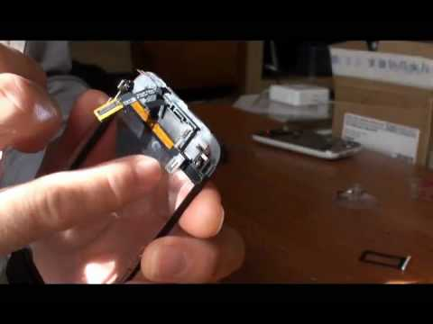 Smontare LCD - Cambiare schermo LCD iPhone 3Gs