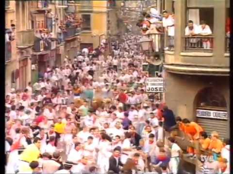 Encierro de San Fermín   12 de julio de 1994 480p 2