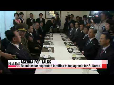 President Park calls for holding inter-(Korean) talks on regular basis 정부, 2차 고위