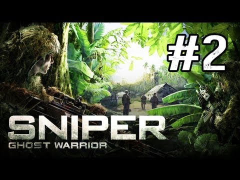 Sniper Ghost Warrior Walkthrough - Part 2 Leave no Man Behind (Gameplay Commentary)