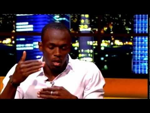 Usain Bolt On The Jonathan Ross Show