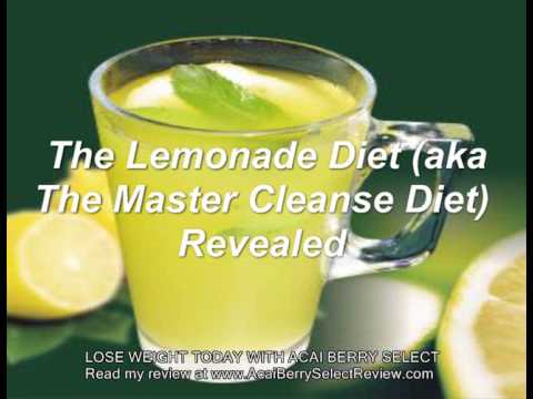 The Lemonade Diet, Otherwise Known as the Master Cleanse Diet, Revealed