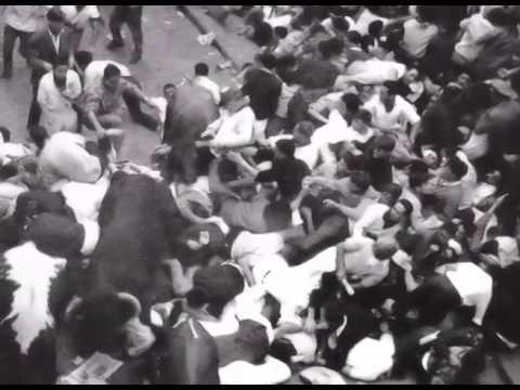 Encierro San Fermin Pamplona del día 7 de Julio de 1960  Primer encierro de las fiestas