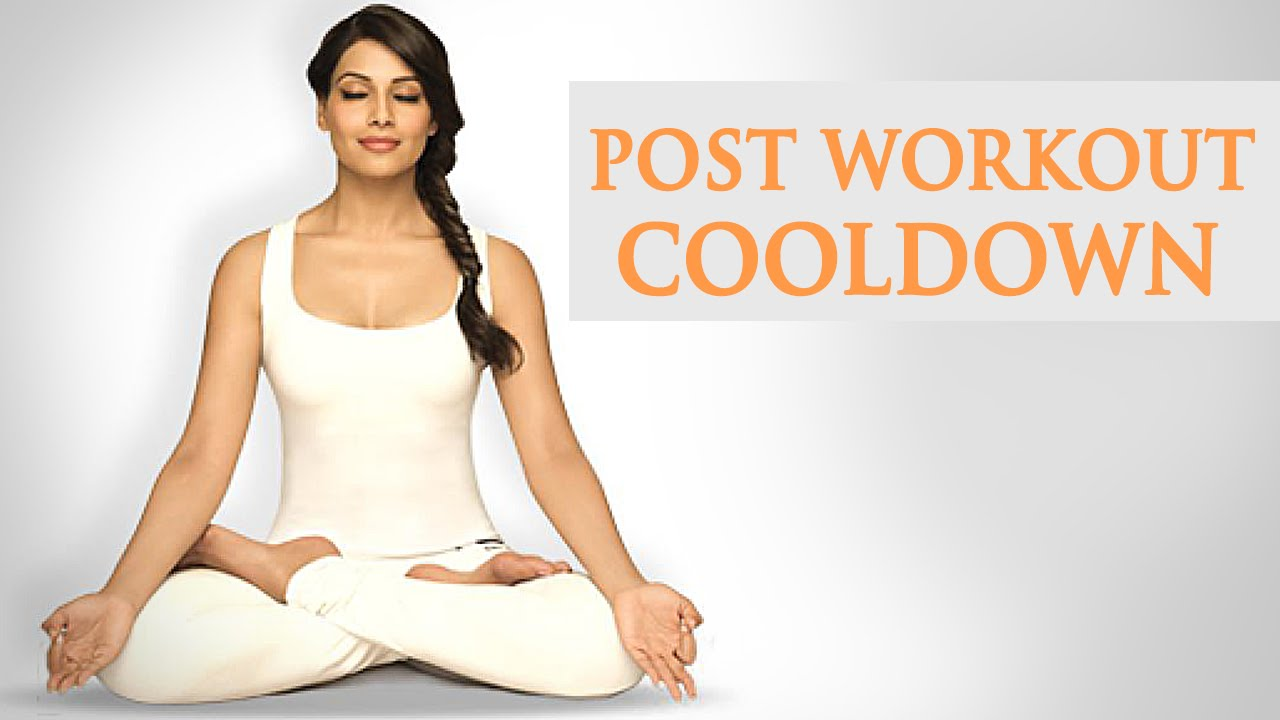 6 Min Cool Down - Post Exercise Routine - Bipasha Basu Love Yourself