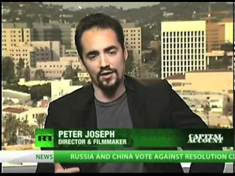 Peter Joseph | Russia Today 12-2 -11] Money Debt, & RBE [ The Zeitgeist Movement ]