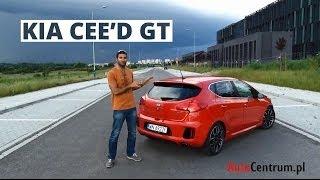 Kia cee'd GT 1.6 T-GDI 204 KM, 2014 - test AutoCentrum.pl