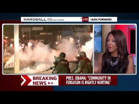 MSNBC Contributor Michelle Bernard Sees 'War on Black Boys' in America, Fears (Genocide) 8/21/14