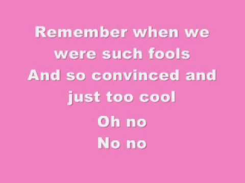 Pink- Who Knew-Lyrics