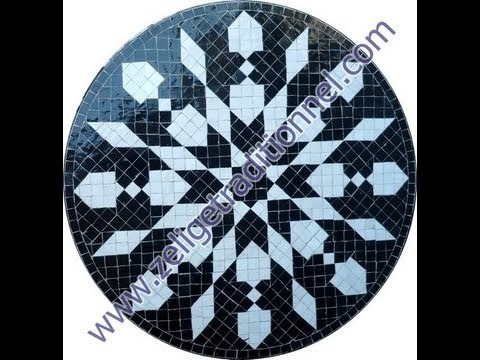 Table Marocaine Mosaique Tables Traditionnel Marocain