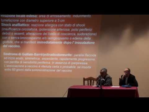 Convegno sulle vaccinazioni pediatriche parte 5/5