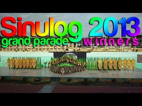 Sinulog 2013 Grand Parade 2nd Placer - Lumad Basakanon (FI)