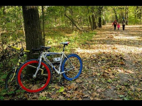 VIDEOCLIP Plimbare de toamna cu bicicletele la Padurea Baneasa [VIDEO]