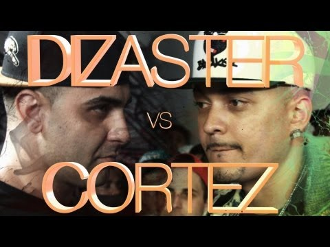 KOTD - Rap Battle - Dizaster vs Cortez