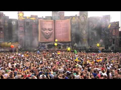 Hardwell ft  D MC at Tomorrowland 2012