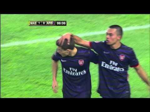 Malaysia XI v Arsenal - Highlights