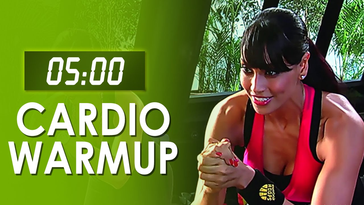 5 Mins Fat Burner Cardio Warmup - Easy At Home Workout - Bipasha Basu Love Yourself