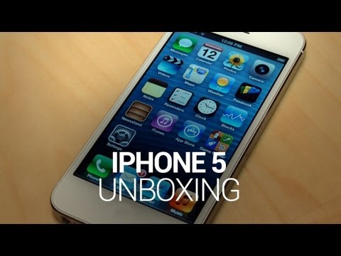 iPhone 5 Unboxing!