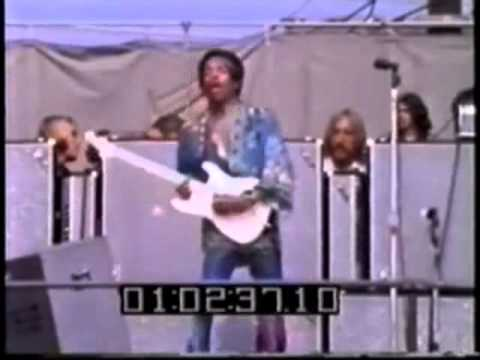 JIMI HENDRIX - Devonshire Downs Pop Festival 1/3
