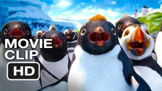 Happy Feet Two Movie CLIP - Robin WIlliams, Fat Chance (2011) HD