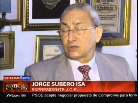 """Subero Isa: es un """"atrevimiento"""" la presión…"""