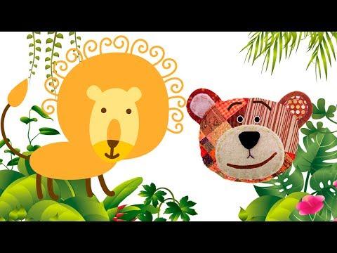 Nombres y sonidos de los animales de la selva