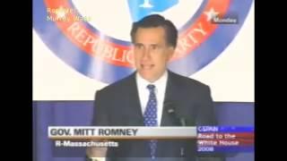 Declarações de Romney contra casais do mesmo sexo vão parar no YouTube