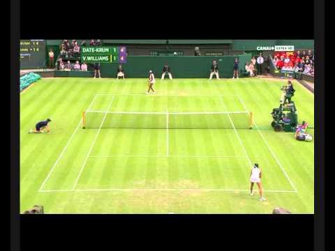 Venus Williams vs. Kimiko Date-Krumm (Part 2)