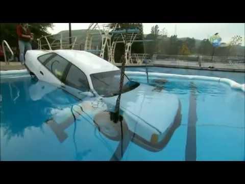 MythBusters - Adam Goes Under | Car Conundrum