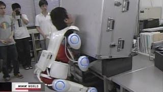 日本發明能讓人瞬間力大無窮的裝備 -