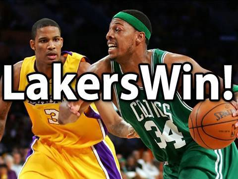 Los Angeles Lakers Win The NBA Finals!
