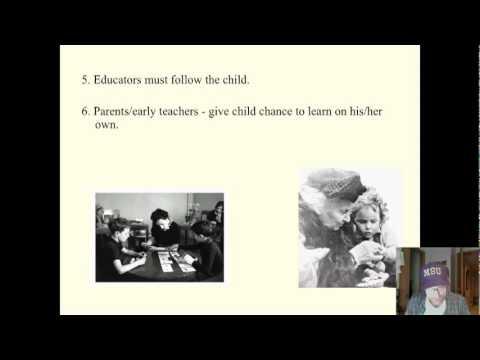 Saylor PSYCH303: Maria Montessori