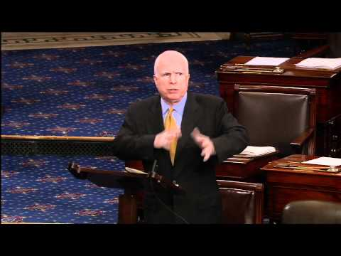 McCain to Republicans: Pushing Balanced Budget Amendment is Bizarro
