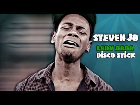 Steven Jo - Lady Gaga Disco Stick Official Music Video