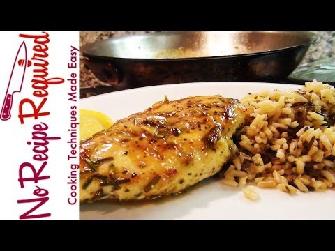 Rosemary Lemon Chicken Breast Recipe - NoRecipeRequired.com