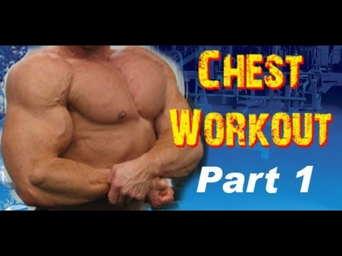 Workout 1 - Chest, Shoulders, & Triceps