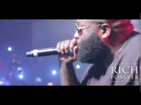"RICK ROSS ""RICH FOREVER"" EUROPEAN TOUR VLOG PART 1 FEAT. JOHN LEGEND (PARIS, ZURICH & LONDON)"