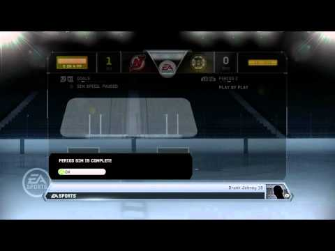 NHL 12: GM Mode Commentary - New Jersey ep. 14 What a Season