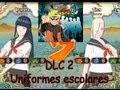 Pelea de Colegialas! Naruto Shippuden UNS3 DLC2 - trajes escolar
