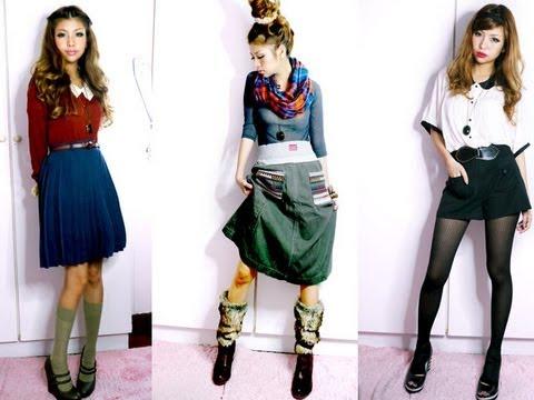 Harajuku Street Style Fashion