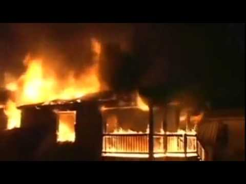 Fire erupts after quake rocks (California) wine country   8/24/14