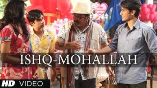 WELCOME TO THE ISHQ MOHALLAH FULL VIDEO SONG CHASHME BADDOOR