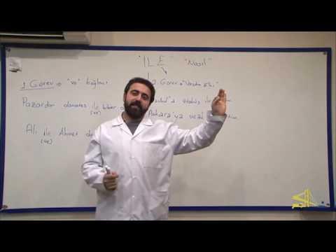 """تعلم اللغة التركية مع الأستاذ إبراهيم اسكي أوجاك الحلقة """" 18 """""""
